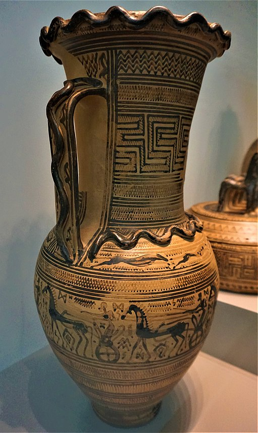 Amphora - Depiction of a Funerary Procession - Altes Museum