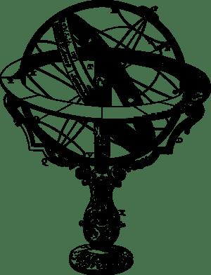 An armillary sphere.
