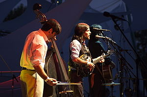 English: The Avett Brothers at Pickathon 2006