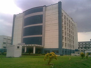Biotech Block at SRM University, Chennai