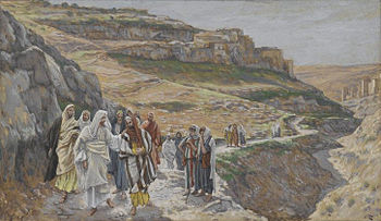 Jesus Discourses with His Disciples