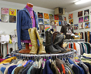 English: The Community Closet Thrift Store