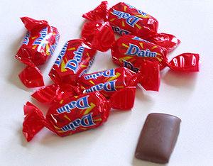 Daim Schokoriegel / Daim chocolate