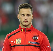 FIFA WC-qualification 2014 - Austria vs. Germany 2012-09-11 -Marko Arnautovic 01.JPG