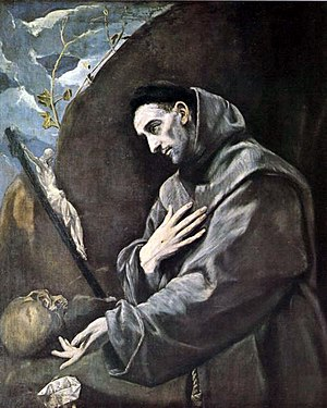 Saint Francis of Assisi, founder of the mendic...