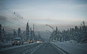 Fairbanks at -40.