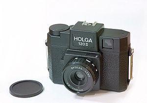 China's Holga camera takes medium-format photo...