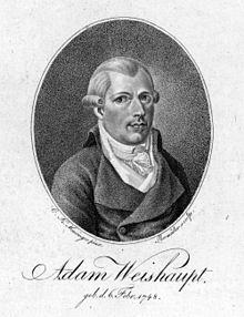 Image result for 1776 – Establishment of the Illuminati in Upper Bavaria, by Jesuit-taught Adam Weishaupt.