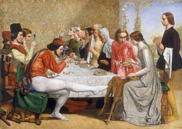"""Isabella"" by John Everett Millais"