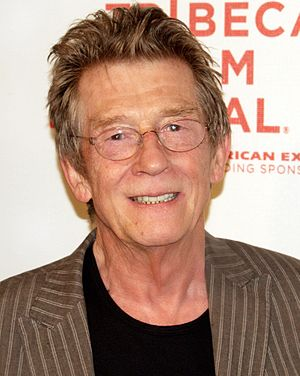 English: John Hurt at the 2009 Tribeca Film Fe...
