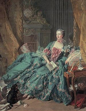 Portrait of Madame Pompadour