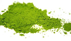 Matcha Tea or green tea powder