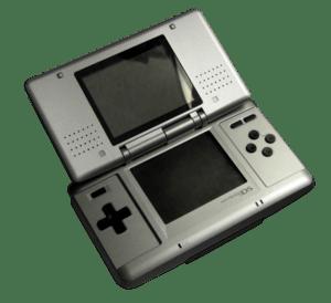 A Nintendo DS. Image:NintendoDS Warm.jpg Trans...