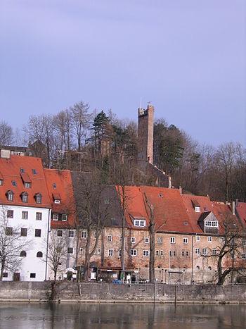 Jungfernsprungturm in Landsberg am Lech