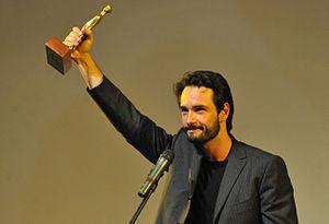 Português: O ator brasileiro Rodrigo Santoro l...