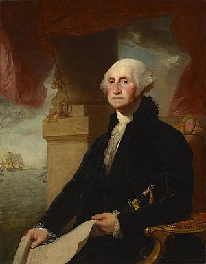 English: * Title = Gilbert Stuart's Portrait o...