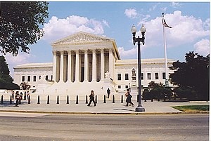 United States Supreme Court building, Washingt...