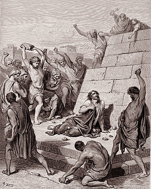 The Death of Stephen by Gustave Doré