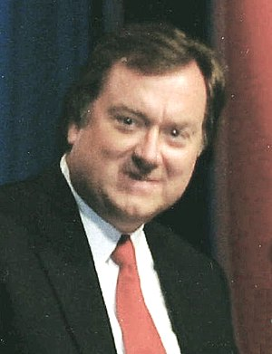 "Tim Russert, host and moderator of ""Meet ..."
