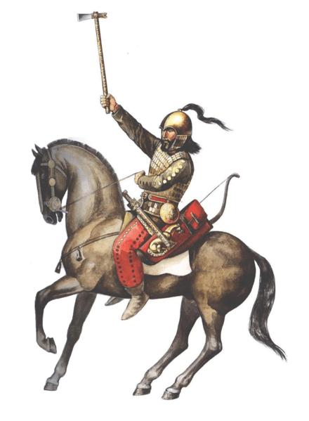 Wojownik scytyjski, VII-VI wiek p.n.e.
