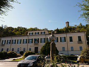 Palazzo Spinola, sede del municipio di Arquata...