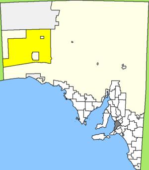 Map of South Australia/Australia, Aboriginal C...