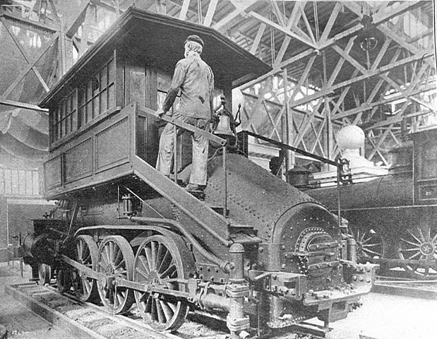 File Baltimore And Ohio 4 6 0 Camelback Locomotive Howden