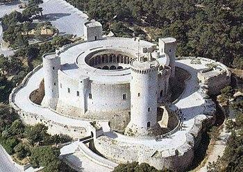 Castillo de Bellver, Palma de Mallorca, Islas ...