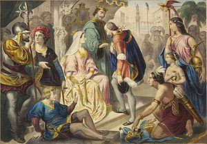 Colón y los Reyes Católicos (El retorno de Colón)