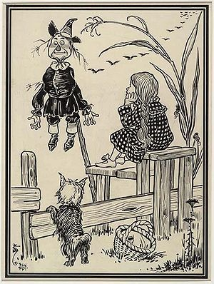 scanned from 1900 Wizard of Oz book