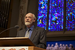 Eugene Peterson lecture at University Presbyte...