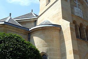 photo du temple de la fondation protestante Jo...