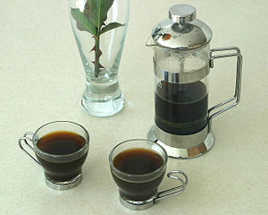 English: French Press