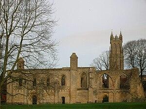 English: Glastonbury Abbey