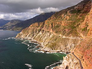 border|22x20px South Africa, Aerial view of Ch...