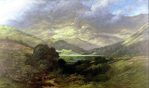 Gustave Doré - Scottish Highlands - Google Art Project