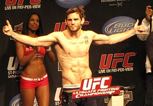 English: Jon Fitch at the UFC 111 weigh-ins.