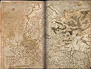 Mapa de Europa de Gerardus Mercator