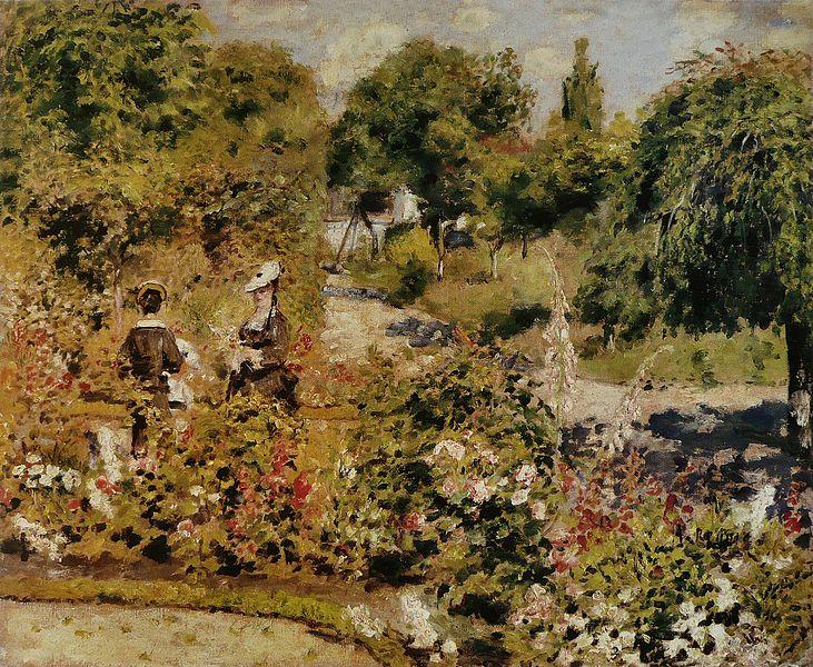 File:Pierre-Auguste Renoir - Jardin à Fontenay.jpg