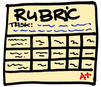 clipart of a rubric
