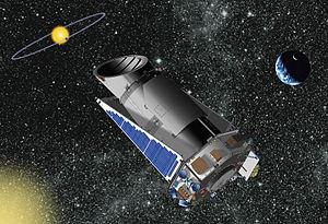 English: Illustration of NASA's Kepler telesco...