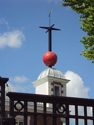 The time ball atop the Royal Observatory, Gree...