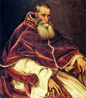 Cardinal Alessandro Farnese became new Pope Pa...