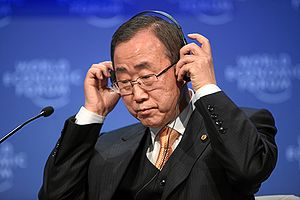Ban Ki-moon, Secretary-General of the United N...
