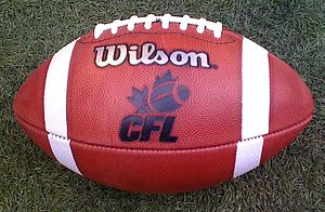 English: Canadian Football League ball