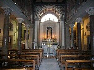 Italiano: Roma, santa Bibiana, interno
