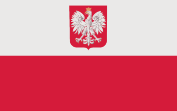 Optional State and Civil Flag of Poland