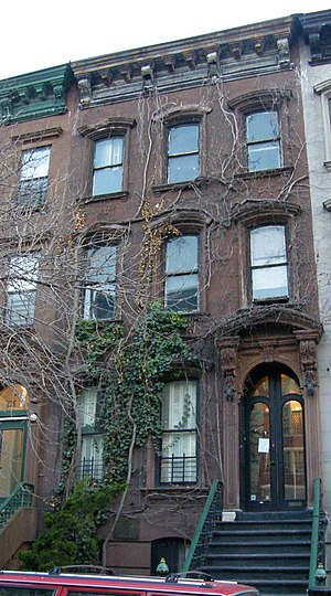 Langston Hughes house at 20 East 127th on Nati...