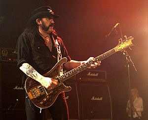 English: Motörhead - Lemmy Kilmister - 2/28/11...