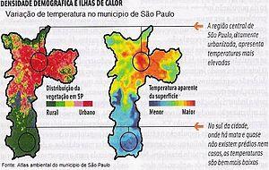 Português do Brasil: Mapa de um estudo realiza...
